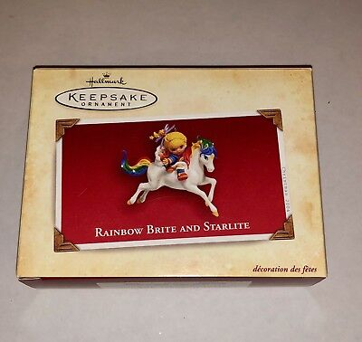 Hallmark Keepsake Ornament- Rainbow Brite And Starlite- 2004