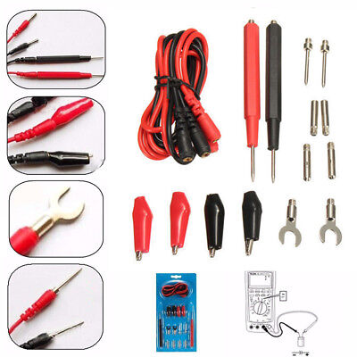 Tool Alligator Clip  Multimeter Cable Electronic Test Lead Kit  Multifunction