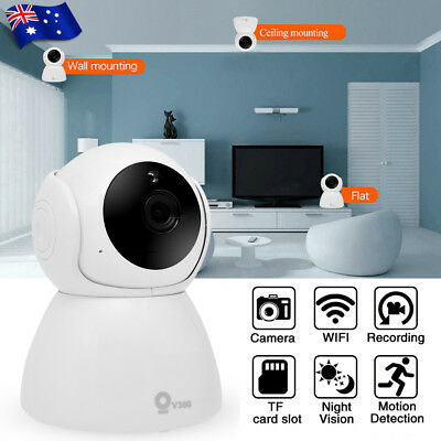 Wireless WiFi 1080P Home Security IP Camera Baby Pet Monitor Smart Phones Webcam