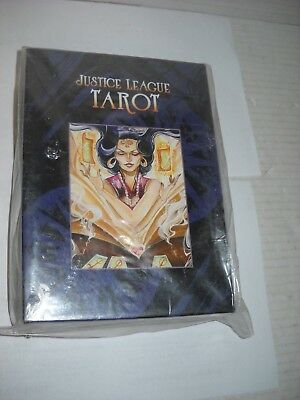 DC Justice League Tarot deck factory sealed & new extra store stock RARE