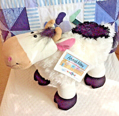"""COW PLUSH 12"""" animal by Animal Alley for Toys R Us"""