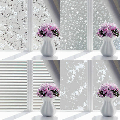 45*100cm Static Cling Frosted Self Adhesive Window Privacy Decorative Glass Film