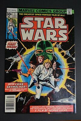 Star Wars #1 - Marvel July 1977 - Beautiful Condition