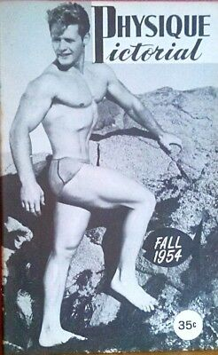 Physique Pictorial Fall 1954 Tony Curtis Issue gay interest magazine scarce
