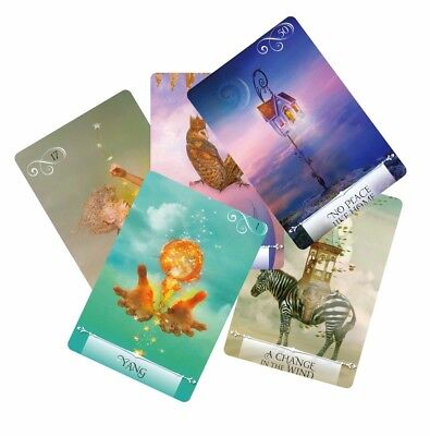 Newest knowledge oracle cards 52 wisdom tarot cards guidance English mysterious