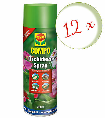 Sparset: 12 x COMPO Orchideen-Spray, 300 ml