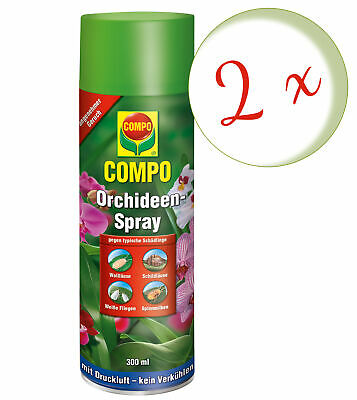 Sparset: 2 x COMPO Orchideen-Spray, 300 ml