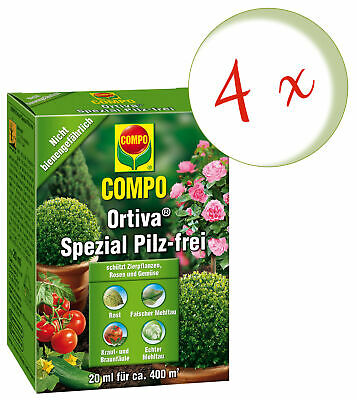 Sparset: 4 x COMPO Orchideen-Spray, 300 ml