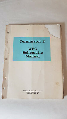 WPC Schematic Manual Flipper Williams Terminator 2 Anleitung