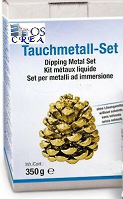 Tauchmetall-Set für Kreative, gold, OSCrea