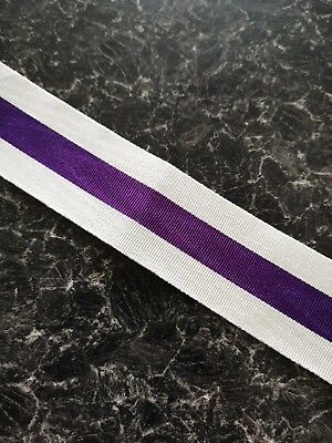 Military Cross Full Size Medal Ribbon (free postage)