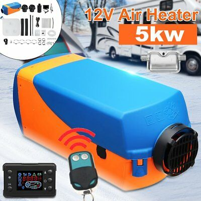 Diesel-Standheizung Luftheizung LCD Remove Air Heater Heizung PKW LKW 5KW 12V BY