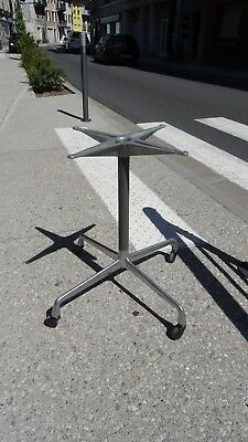 "EAMES ed Herman Miller Base table so-called ""Aluminum group"" Design Circa 70"