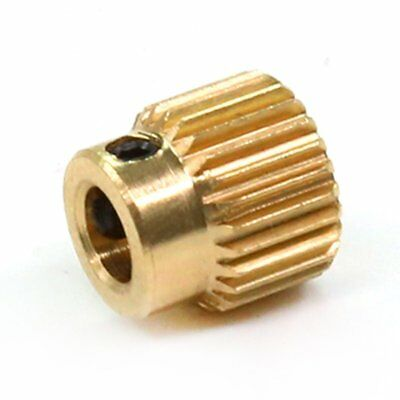 3D Printer Extrusion Gear For 1.75mm Filament Extruder Feed Gear Wheel WV
