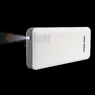 Portable 50000mAh 3USB LED External Battery Power Bank Charger For Mobile Phone
