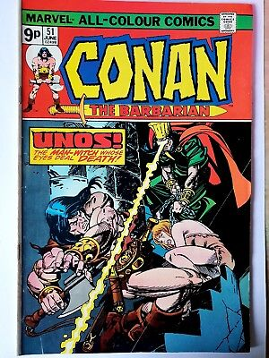 CONAN THE BARBARIAN # 51 (ROY THOMAS, Cents Issue, JUNE 1975),