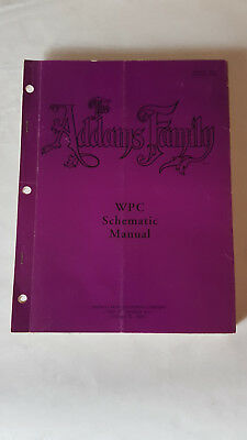 WPC Schematic Manual Flipper Bally The Addams Family Anleitung