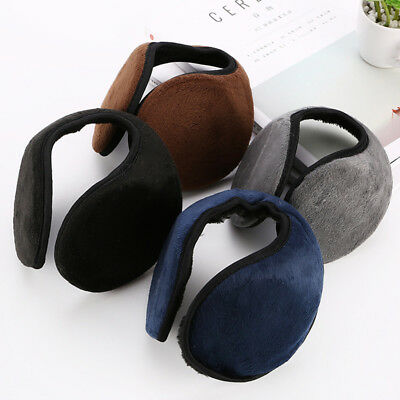 USA Ear Muffs Winter Ear warmers Fleece Earwarmer Men Women Behind the Head Band