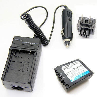 Li-ion Pack Battery + Charger for LEICA BP-DC5-E BP-DC5 J BP-DC5 U V-LUX1 New