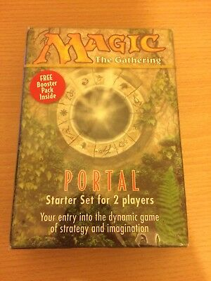 Mtg: Magic The Gathering - Portal Starter Deck For 2 Players 1997