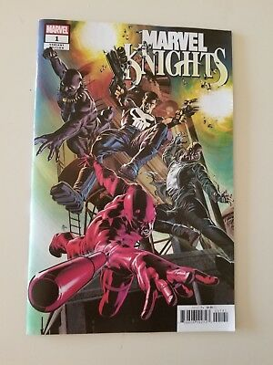 Marvel Knights 1 20th Anniversary NM+ DEODATO VARIANT. HOT COVER