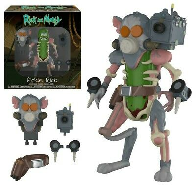 FUNKO Rick and Morty - Pickle Rick Action Figure - In Hand Ready to Ship - MINT