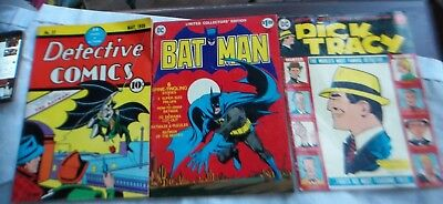 Lot of 3 DC Limited Collector's Edition 1st Edition BATMAN Detective Comics # 27