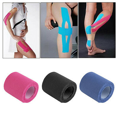 5cm*5m Therapeutic Protective Tape Sports Physio Muscles Care Wrap Bandage #O