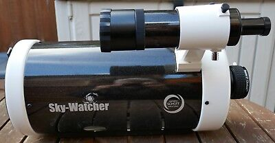 """Skywatcher Skymax 150 Pro With Finderscope, Baader 2"""" Clickstop And Aluminium Ca"""
