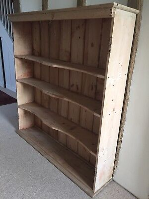 Lovely Large Old Antique Paine Bookcase