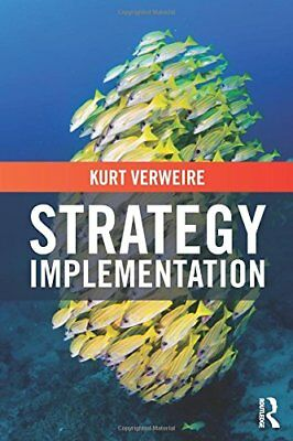 Strategy Implementation New Paperback Book Kurt Verweire