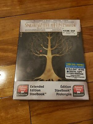 Snow White And The Huntsman Future Shop Exclusive Steelbook! Brand New!