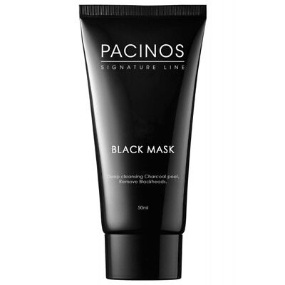 Pacinos Deep Cleansing Charcoal Peel Black Mask 50ml / SAME DAY POST