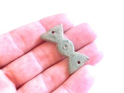 Iron Age ANCIENT Celtic Druid Bronze AMULET / TALISMAN > Propeller Form - 700 BC