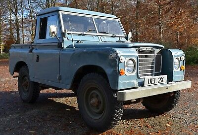 """land rover series 3 88"""" 1982"""