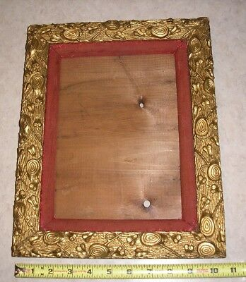 Beautiful Antique Picture Frame Ornate With Stumps and Ivy
