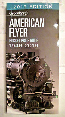 """{""""No 2020 Edition to be printed""""} 2019 GREENBERG'S AMERICAN FLYER PRICE BOOK .."""