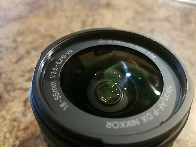 Nikon D5600 DSLR Camera w/ AF-P 18-55mm VR Lens 1576
