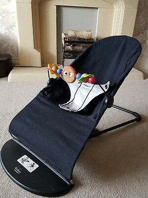 Baby bjorn bouncer chair and toy bar