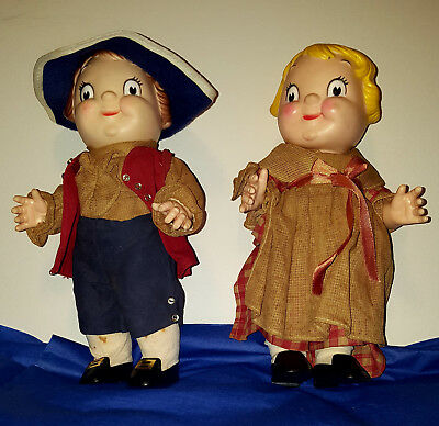 Vintage Campbell's Soup Kids Dolls Advertising