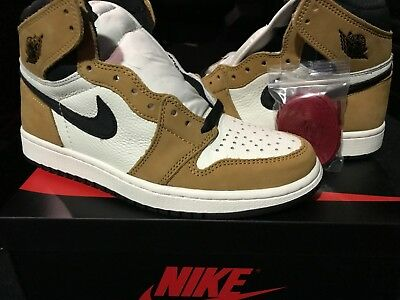 "NEW DS 2018 Air Jordan Retro 1 High OG ""Rookie of the Year"" 555088-700 ROY"