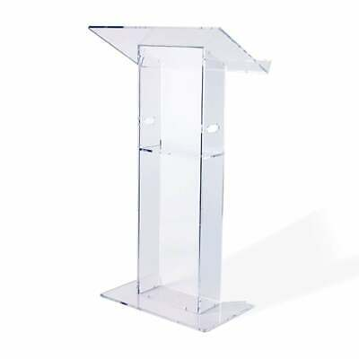 Clear Acrylic Lectern - 685mm - Assembled