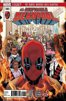 THE DESPICABLE DEADPOOL #1 Double Sized Issue Marvel Comics 1st Print New NM