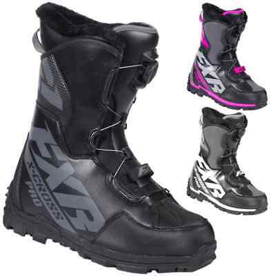 FXR Racing F19 X-Cross Pro Boa Mens Winter Sports Skiing Snowmobile Boots