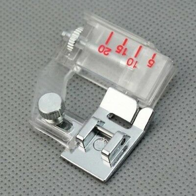 2016 New Home Snap-on Adjustable Bias Binder Presser Foot Feet For Household Sew