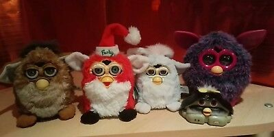 Job Lot Bundle Hasbro Furby Furbies Faulty spares Christmas Boom Collectables