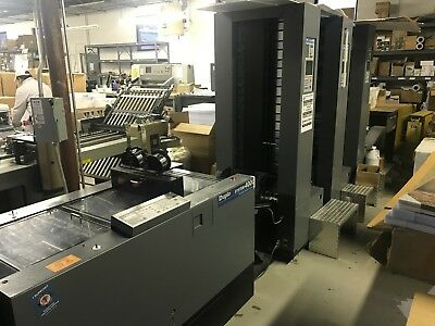 Duplo 4000 collator/bookletmaker with 3 Towers and stacker
