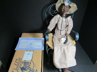 "Daddy Long Legs Doll""jasmine""  Dl10P Retired Rare Large Size Signed Collectible"