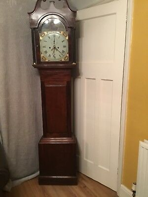 Eight Day Long Case Clock