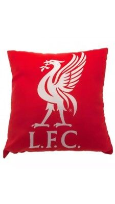 Liverpool FC Cushion Bedroom Throw Gift Official Club Licensed Pillow Christmas